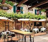 Weaeo Benutzerdefinierte Wandbild 3D Zimmer Tapete Europäischen Stil Café Bar Dekoration Malerei Bild 3D Wandbilder Tapete Für Die Wand 3D-280X200Cm