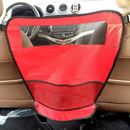 Forepin® Auto per Barriera di Sicurezza Auto Sedile per Cane Gatto Animali Auto da viaggio 50*68.5cm (Rosso)