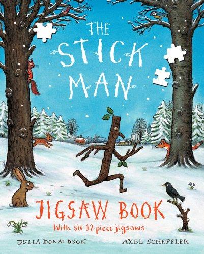 Stick Man Jigsaw Book