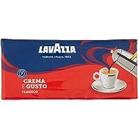 Lavazza Caffè Macinato Crema e Gusto - 4 confezioni da 250 grammi [1 Kg]