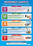 Internet Safety |ICT and Computing Educational Wall Chart/Poster in high gloss paper (A1 840mm x 584mm)