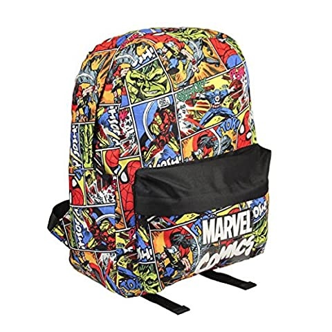 Marvel 2100001755 40 cm Retro Comic Book Montage Backpack (Large)