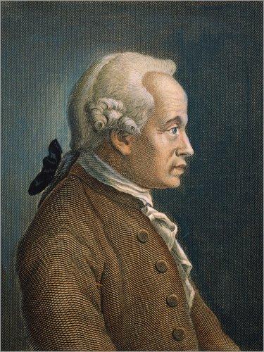 Poster 60 x 80 cm: Immanuel Kant von Granger Collection - hochwertiger Kunstdruck, neues ()