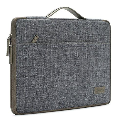 DOMISO 10.1 Zoll Strapazierfähiger Laptoptaschen Mit Griff Feuchtigkeitsabweisend Notebook Schutzhülle Tasche für12