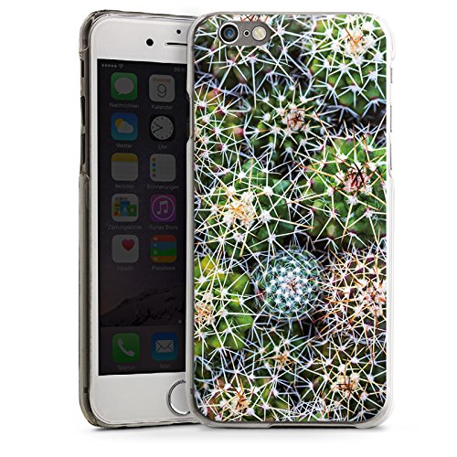 Apple iPhone 5 Housse Outdoor Étui militaire Coque Cactus Plante Succulentes Plantes grasses CasDur transparent