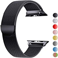 VIKATech Compatible Correa para Apple Watch 44mm 42mm 40mm 38mm | Pulsera de Acero Inoxidable | Pulseras de Repuesto...