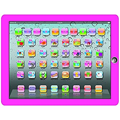 My First Tablet Kids Childrens Laptop Touch Type Learning Computer Educational Toy Game