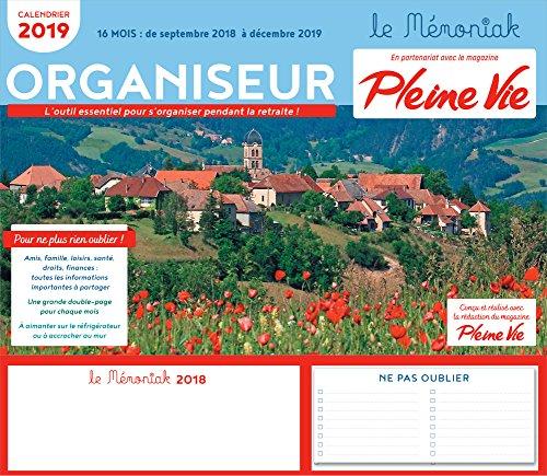 Organiseur Mémoniak Senior Pleine Vie 2018-2019 par Collectif