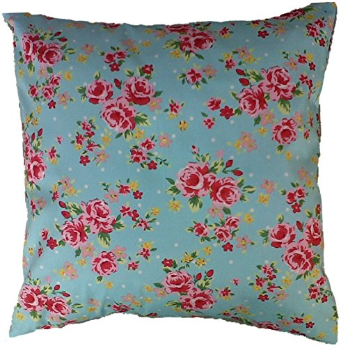 sky-blue-and-pink-vintage-floral-print-cushion-cover-size-16-x-16