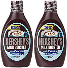 Hershey's Milk Booster Syrup, 450g (Pack of 2)