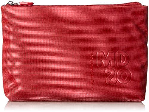 Mandarina Duck - Md20 Minuteria, Borsa a spalla Donna Rosso (Flame Scarlet)