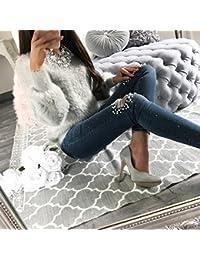 Mujer Camisa Sweatshirt LargoManga Camiseta - Señoras Pullover Invierno Ropa Calentar Prendas de Punto Sudadera Sexy Redondo Cuello Tops Casual Blusa Shirt Highdas