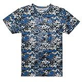 Chabos IIVII Herren Oberteile/T-Shirt Camo Camouflage S