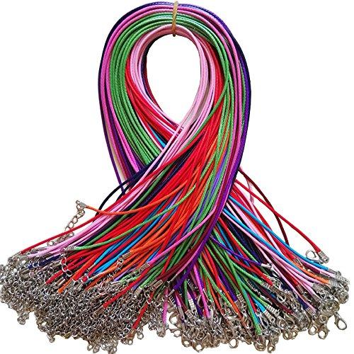 bepo-110-piezas-cera-cordon-de-piel-collares-cadena-con-mosqueton-para-diy-jewelry-making-15-mm-45-c