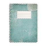 Bloc-notes | Cahier | Notebook | Journal | Carnet WIREBOOKS 5048 DIN A5 120 pages de papier 100g à lignes