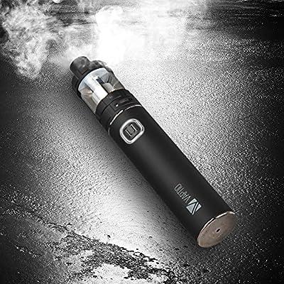 VAPTIO Superman C-II Kit,100W (Max) E-Zigarette Starterset Vape Anfänger/ Experte, Top Refill Verdampfer mit Luftfluss Kontrolle,0,25 ohm Sub Ohm Verdampferkopf,3000mAh Akku, 510er Gewinde, e Rauchen/e shisha, umfassen keines Nikotion und keine E Flüssi