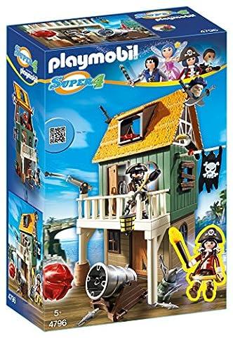 PLAYMOBIL 4796 - Getarnte Piratenfestung mit