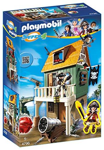 Preisvergleich Produktbild PLAYMOBIL 4796 - Getarnte Piratenfestung mit Ruby