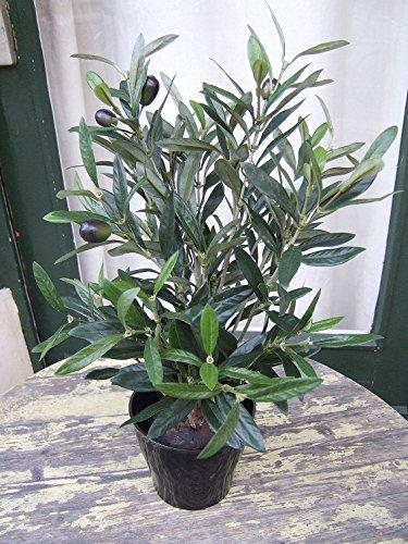 Künstliche Olive mit Früchten im Topf ca. 45cm