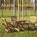 Kindersitzgruppe 4 teilig, Akazie von Merschbrock Trade GmbH bei Gartenmöbel von Du und Dein Garten