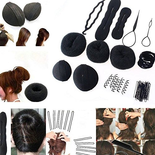 contever-magic-hair-maker-braid-tool-foam-sponge-hairpins-clip-stick-bun-set