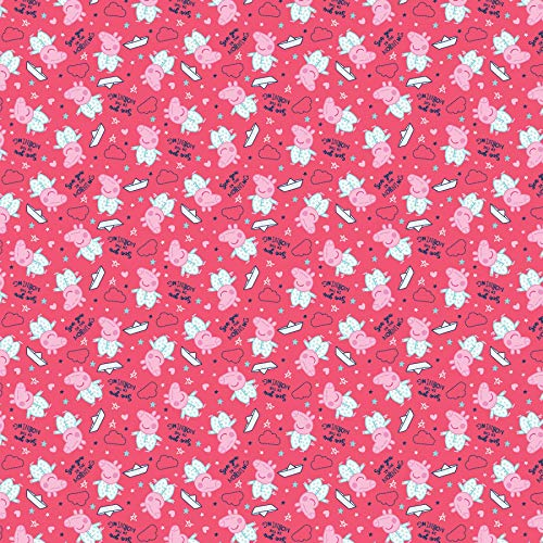 Spring's Creative Tela Peppa Pig DE 0,5 Metros, 100% algodón
