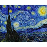 """Starry Night By Van Gogh - """"Top 10 Vincent Van Gogh Poster"""" Collection - Post Impressionist Painter - Premium Quality Poster (12 X 17 Inches) For Home And Office Décor By Tallenge"""