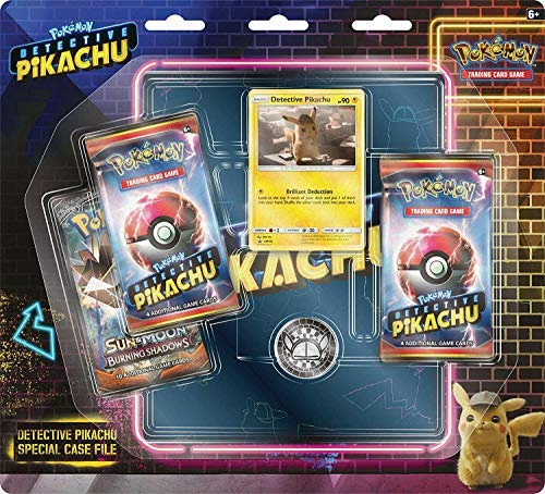Lively Moments Pokemon Karten Detective Pikachu Special Case File Display EN Englisch Promo Trading Card Game