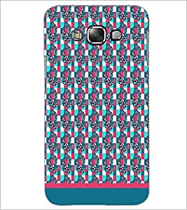 PrintDhaba Pattern D-1786 Back Case Cover for SAMSUNG GALAXY A7 (Multi-Coloured)