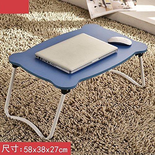 Moderner Aktenschrank (KHSKX Laptop-Schreibtisch, Bett mit einfachen Tisch, moderner Klapptisch Schlafsaal faul, lernen kleiner Schreibtisch,8)