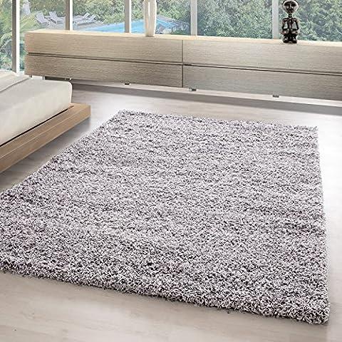 Hochflor Shaggy Teppiche für Wohnzimmer, Esszimmer, Gästezimmer, Jugendzimmer, Babyzimmer mit