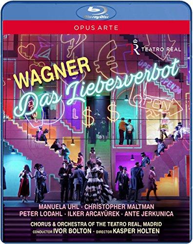 Wagner: Das Liebesverbot (Madrid, 2016) [Blu-ray] -