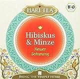 Hari Tea Neuer Schwung / Jeder Moment ist jung Hibiskus & Minze, 2er Pack (2 x 20 g) - Bio