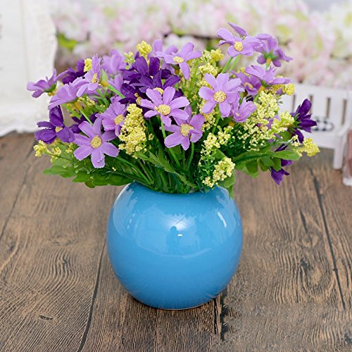 Eine moderne, minimalistische Möbel orb Vasen Schreibtisch eine kleine frische Blumen Emulation Suite Wohnzimmer setup für, FG Blumen verbringen.
