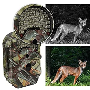 CamKing E5 16MP 1080P HD Game & Trail Hunting Camera with Infrared Night Vision