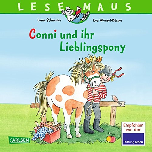 Burger Mädchen (Conni und ihr Lieblingspony (LESEMAUS, Band 107))