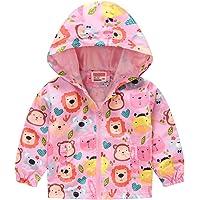 manadlian Manteau pour Bébés Filles Garçons 12 Mois- 5 Ans Hiver Vestes Rembourrées à Capuche Coupe-Vent Vêtements…
