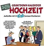 Countdown-Kalender Hochzeit: Postkartenkalender - Standkalender
