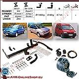 AHK Remolque con eléctrico Juego de 7 pines para Citroen Evasion, Jumpy/ Peugeot 806