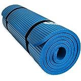 YUREN Thick Yoga Mat 1,5cm Extra Thick NBR Lightweight Non-Slip Non-Toxic Gym Ashtanga Bikram Fitness Exercise Mat, Incl Bag