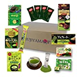 Japanese Matcha Green Tea Sweets and Snacks assortment gifts 10 pcs