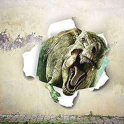 zooarts dinosaurio feo animales pared Mural adhesivo de vinilo etiquetas de la pared decoración de la habitación