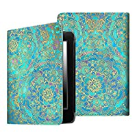 Fintie Folio Case for Kindle Paperwhite - The Book Style PU Leather Cover with Auto Sleep/Wake Feature for All-New Amazon Kindle Paperwhite (Fits All 2012, 2013, 2015 and 2016 Versions), Shades of Blue