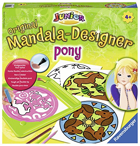 Ravensburger – 29874 – Junior Mandala-Designer Pony