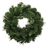 WeRChristmas - Ghirlanda natalizia decorativa, 51 cm, stile vittoriano, pino