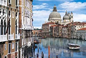 The lagoon and 7 1053 super small piece Venice [Italy] 47-704 (japan import)