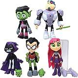 Dondonmin Teen Titans Go Muñecas Juguetes for niños muñeca Exquisita muñeca de Juguete de Dibujos Animados de Ragdoll Precios