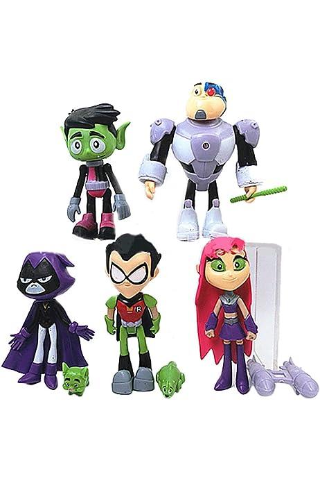Camiseta Teen Titans go - Manga Corta - niña - niños - Unisex - Idea de Regalo - Color Blanco - Talla m: Amazon.es: Ropa y accesorios