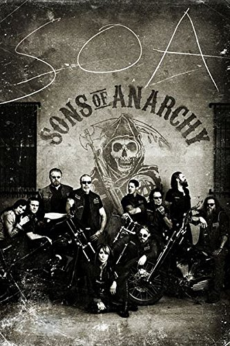 Póster Sons of Anarchy, vintage