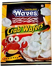 Chateliers Waves Crab Wafers (100 Grams x 3)